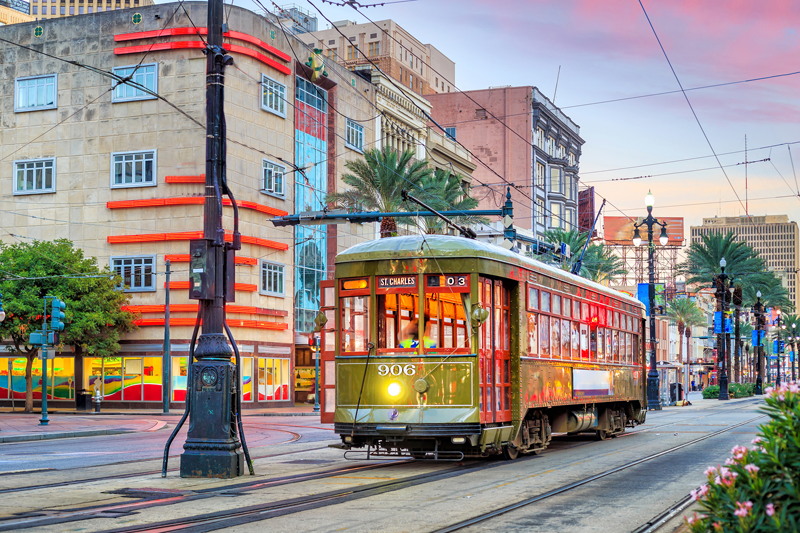 St. Charles Streetcar - New Orleans