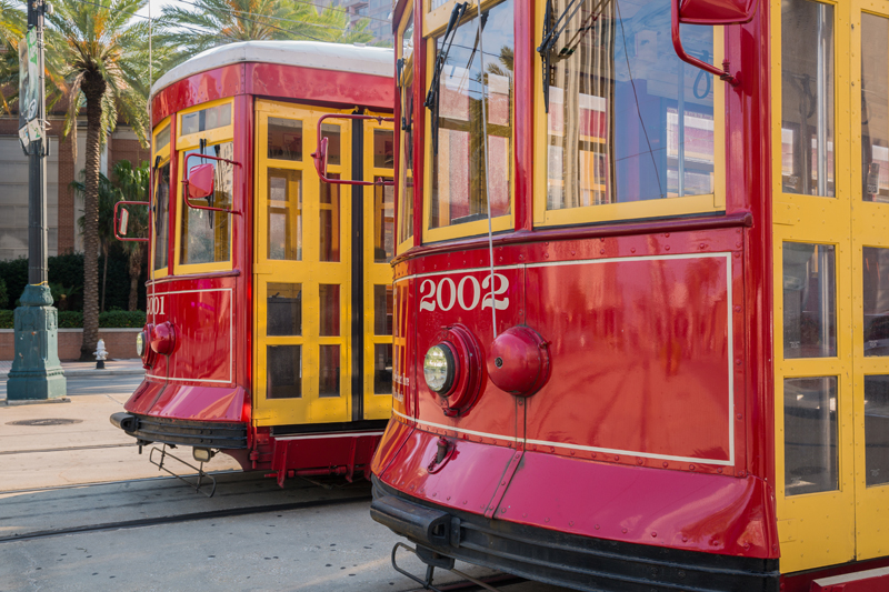 Canal Street Streetcar - New Orleans